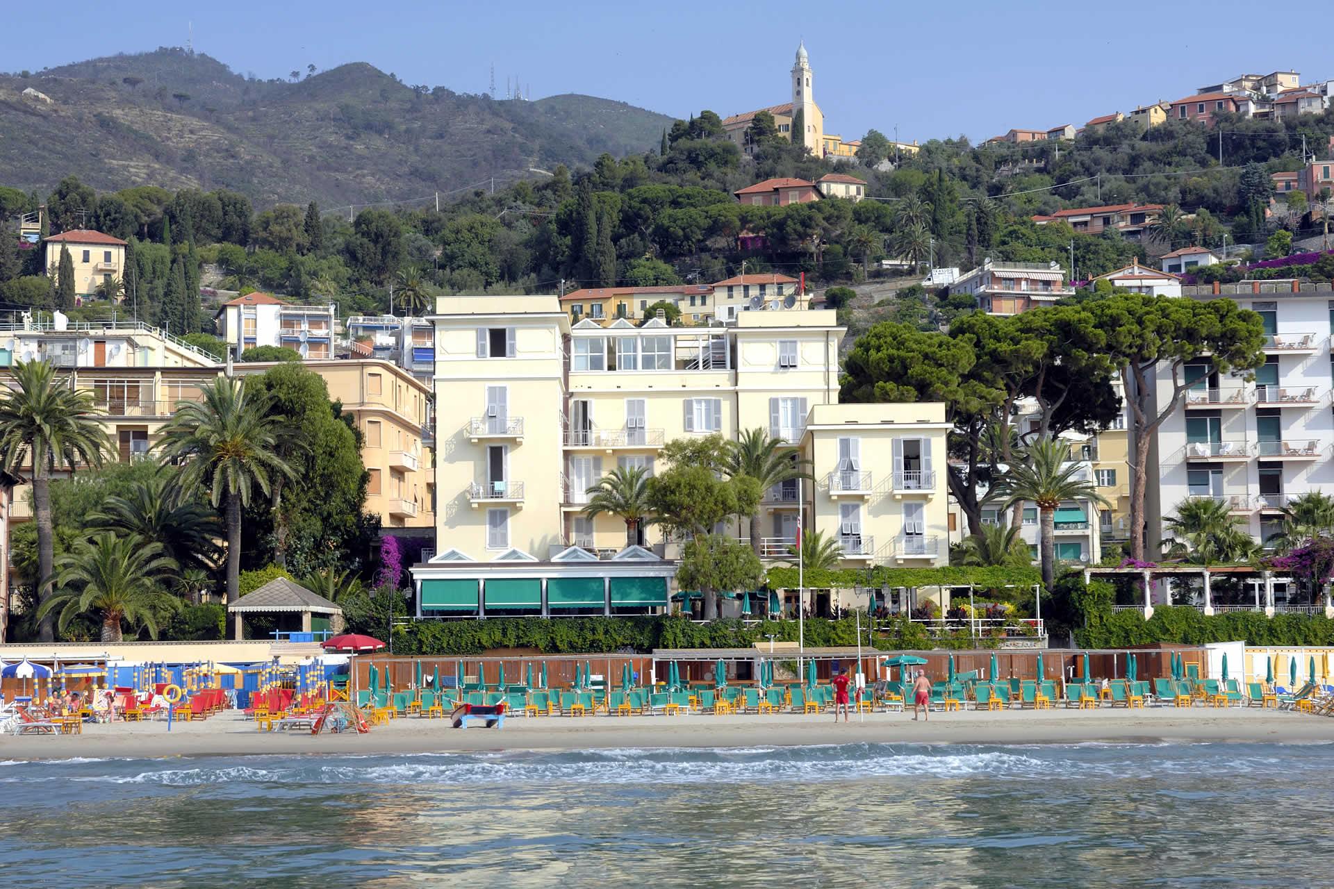 Alassio Hotel Beau Sejour Vom Strand Ligurien